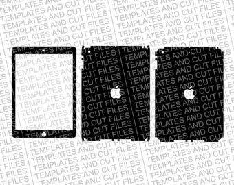 iPad AIR Skin template for cutting or machining - Digital Download for plotters, CNCs, Laser cutters, Cameo, Cricut | 11 CUT Files | SVG