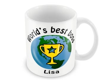 World's Best Any Text, Brother, Mum, Dad, Sister, Friend, Neighbour. Ideal gift for birthdays, Christmas or secret santa gifts.
