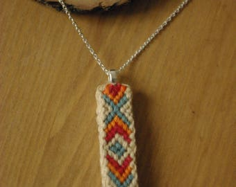 Necklace pendant ethnic style band
