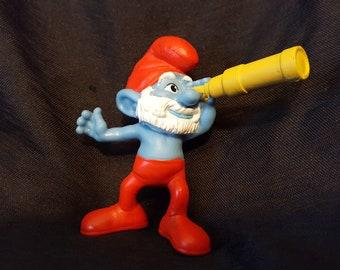 Papa Smurf Cake Topper Figurine