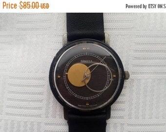 SALE Raketa watch, COPERNIC, Kopernik, Copernicus, Moon Sun watch, Soviet watch, Russian watch,Mechanical watch,Raketa