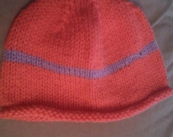 Teen Pink and Purple Hat