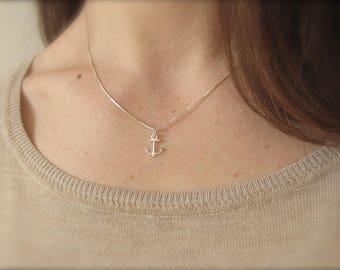 Anchor | Necklace | Silver 925
