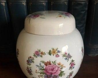 Sadler Flowery Ginger Jar from 1940's