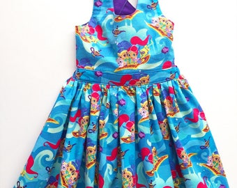 Shimmer and Shine dress, Shimmer and Shine birthday, Shimmer and Shine girls dress, Shimmer and Shine outfit, Shimmer Shine birthday outfit
