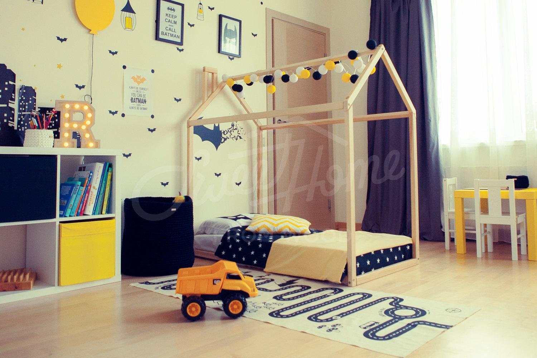 lit b b lit maison tente lit lit enfants maison en bois. Black Bedroom Furniture Sets. Home Design Ideas