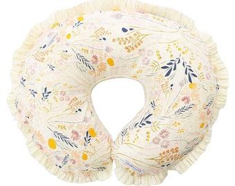 Weslie's Boho Floral Nursing Pillow Cover | Wildflower Floral Nursing Pillow Cover