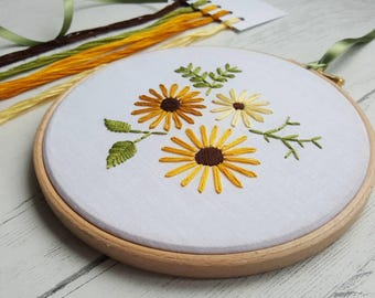 Embroidery Kit, Stitch kit, Craft Kit, Needle work, Christmas Gift, Crafter Gift, Embroidery kits