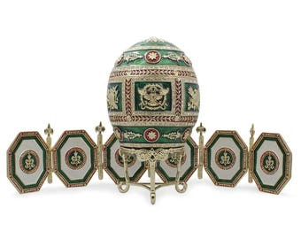 1912 Napoleonic Faberge Egg