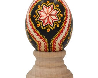 Real Blown out Eggshell Pysanka Ukrainian Easter Egg