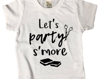 PARTY S'MORE shirt tee