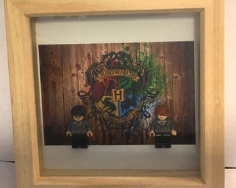 Harry and Ron Bff/BestFriend lego frame