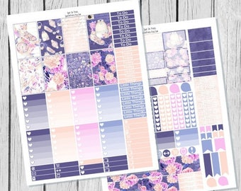 40% OFF Jet Setter Planner Sticker Happy Planner Printable / Happy Planner Stickers / Printable Planner Stickers / Spring Planner Stickers