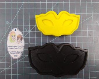 Mask Plastic Mold or Silicone Mold, Masquerade mold, bath bomb mold, soap mold, party mold, mardi gras mold, girly mold, Carnival Mask  mold
