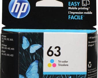 HP 63 Tri-Color Ink Cartridge - F6U61AN#140