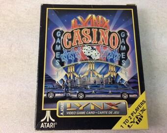 Casino Atari Lynx - Atari Games - Retro Games - Atari Lynx