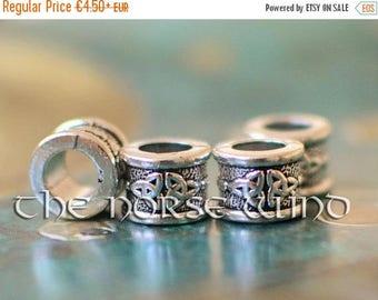 SALE 15% OFF Celtic Beard Beads Vikings Hair Beads Trinity Dwarven Beard Rings, Viking Amulet Triquetra Asatru Celtic Jewelry Viking Jewelry