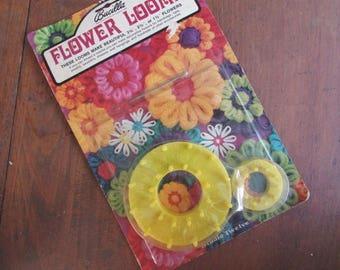 Flower Loom Vintage Craft Supply Knitting