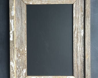 Reclaimed Barn Wood Framed Chalkboard