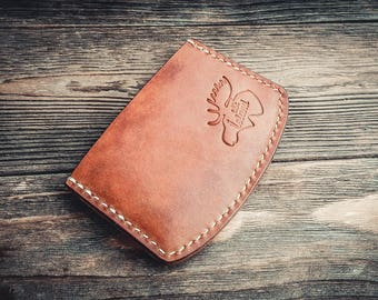 Leather Axe Cardholder