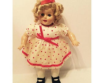 Vintage 1989 Bright Star Shirley Temple Doll by Horsman