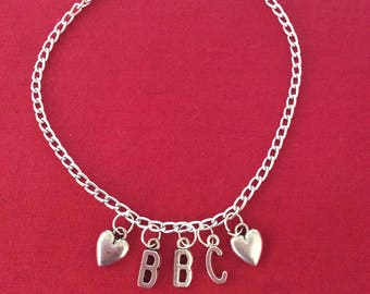 BBC  anklet silver
