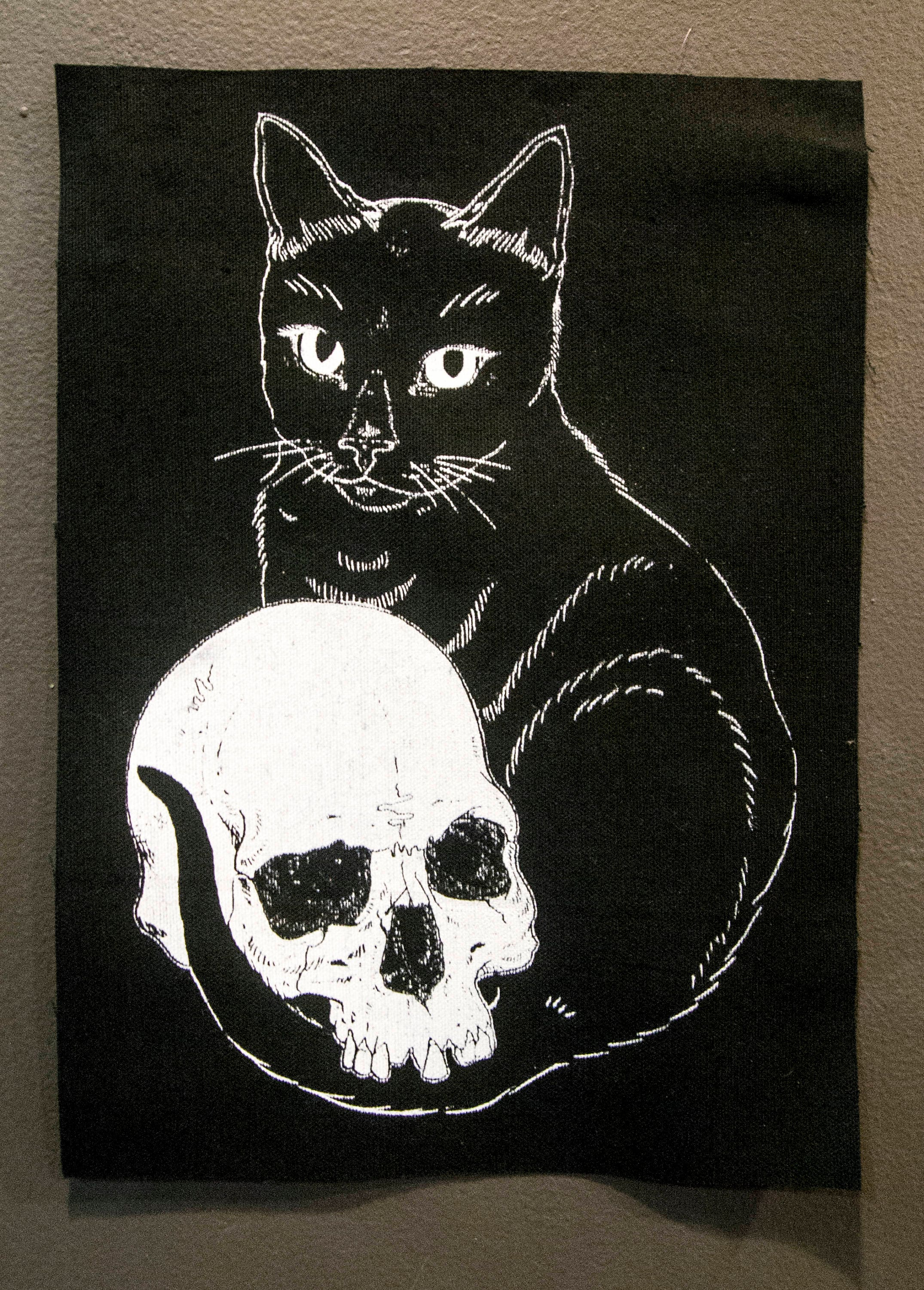 Embracing Death Back Patch