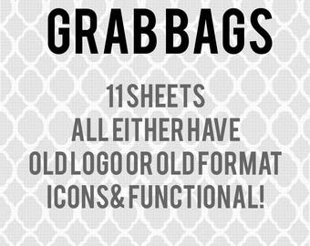 Grab Bags! 11 sheets! Not miss cut!!!