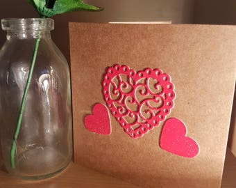 Trio of Hearts card