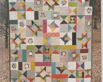 "SALE! Starfall Quilt Pattern - by Fresh Lemons Quilts - 60"" x 72"""
