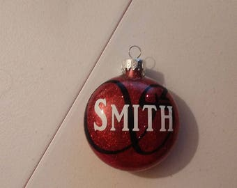 Personalized / Glass / Christmas / Ornament