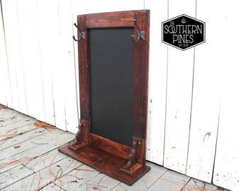 Chalkboard Coat Rack Etsy