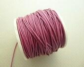 2 m cordon en cuir rose 1,5mm - CC15-0900