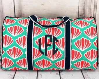 Monogrammed weekender bag, monogrammed overnight bag, monogrammed duffle bag, monogrammed carry on bag, duffle bag