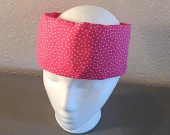 Freezeit! Migraine headwraps Pink Dotty
