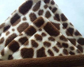 cage liner pee pad set  washable potty pad fleece pad uhaul pad hedgehog guinea pig rabbit reusable pee mat