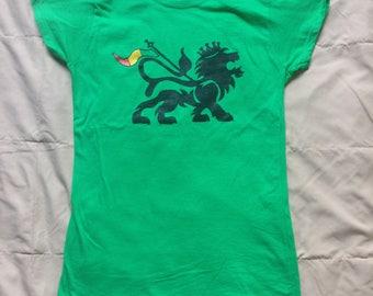 Lion of Judah Ladies Short Sleeve Shirt