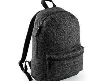 Graphic backpack ideal for adult any occasion great graphic design
