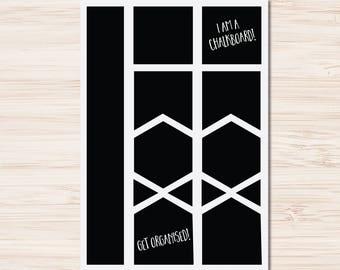 Chalkboard Label Sheet 2   Fancy Mason Jar Wedding Party Gift Tags Kitchen Storage Jar   Chalkboard Label Sticker Sheet