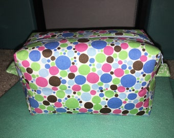 Colorful box pouch
