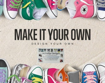 Design your own shoes Converse