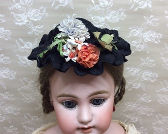 Beautiful Antique Hat for Bisque Doll
