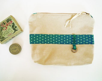 makeup case, pouch, toiletry bag Star