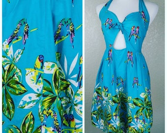 Clearance *** Adorable Little Tiki Style Sundress
