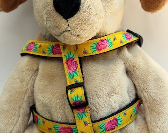 Spanish Rose Step-In Dog Harness