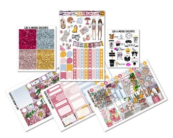 Kitchen Cutie | Mini Planner Sticker Kit | for use in erin condren vertical life planner