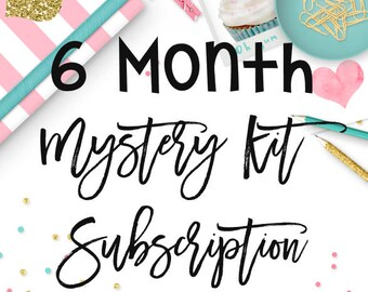 6 Month Mystery Kit Subscription