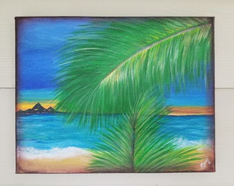 """Original Acrylic painting by artist M.Ferguson titled """"Anew Place"""""""