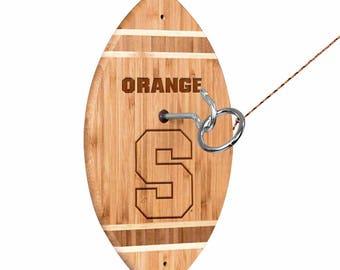 Syracuse University Orange Tiki Toss