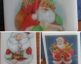 Christmas gift soaps Santa Christmas gifts Scented soaps Original Christmas gift Kids soaps Christmas pictures soap Winter soaps Santa